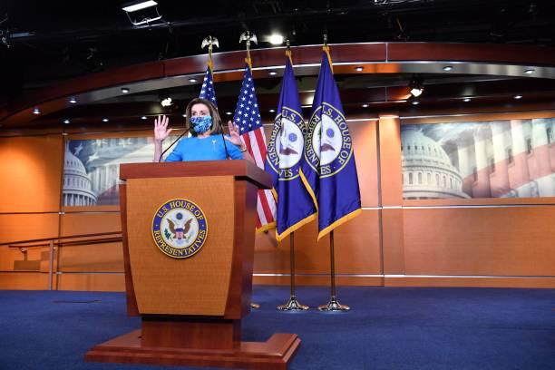 DC: Speaker Pelosi Speaks To Media In Weekly Briefing