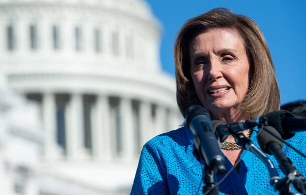 DC: Speaker Nancy Pelosi And House Democrats Hold News Conference On Women's Health Protection Act