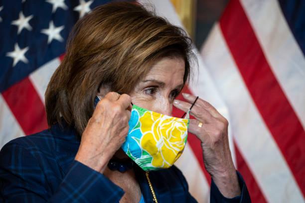 DC: Speaker Pelosi Holds Ceremonial Swearing-In For Congressman-Elect Ellzey