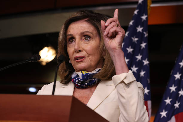 DC: Speaker Pelosi Holds Weekly News Conference On Capitol Hill