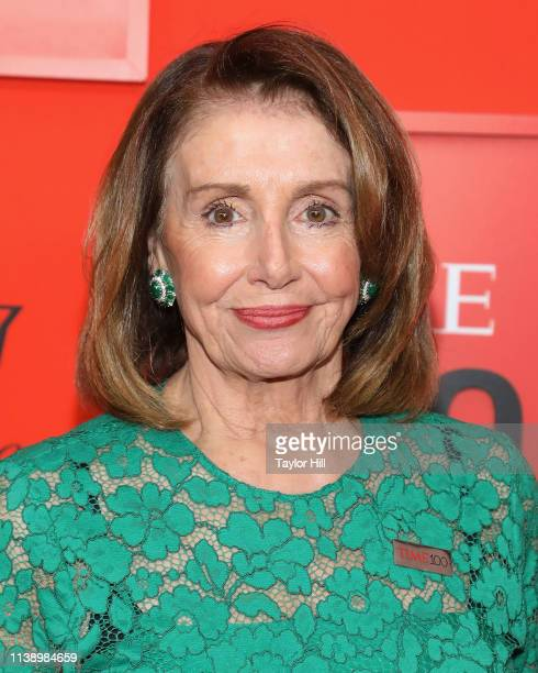 Speaker of the House of Representatives Nancy Pelosi attends the 2019 Time 100 Gala at Frederick P. Rose Hall, Jazz at Lincoln Center on April 23,...