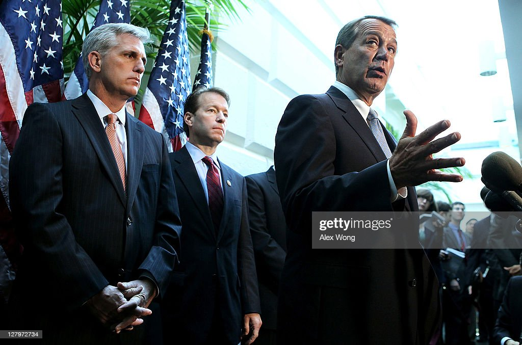 House Speaker Boehner And House GOP Leaders Hold Media Availability