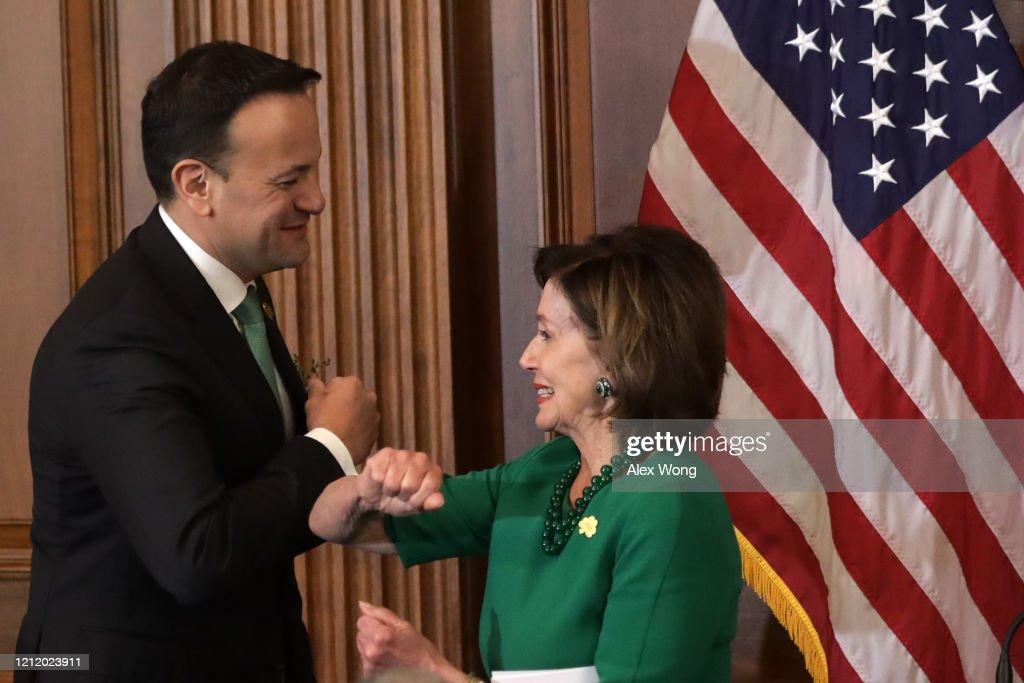Congress Hosts Annual Friends Of Ireland Luncheon : Nieuwsfoto's