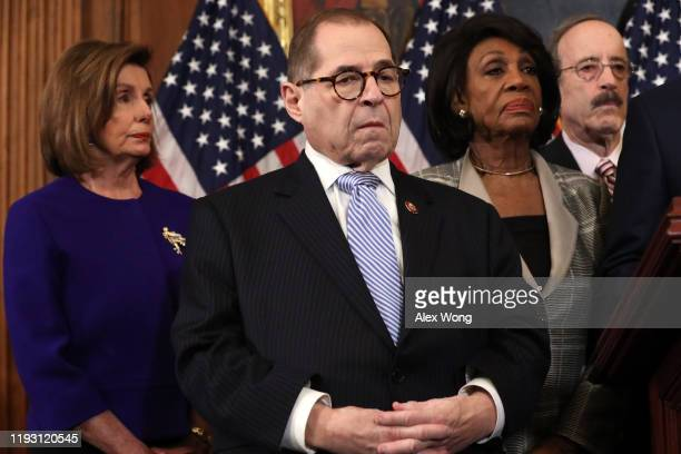 Speaker of the House Rep Nancy Pelosi Chairman of House Judiciary Committee Rep Jerry Nadler Chairwoman of House Financial Services Committee Rep...