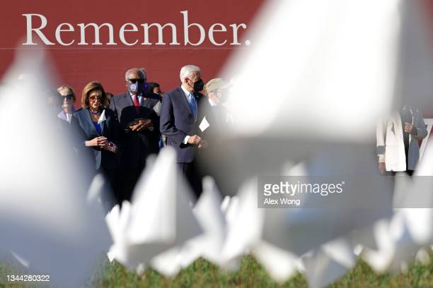 """Speaker of the House Rep. Nancy Pelosi , House Majority Whip Rep. James Clyburn , and House Majority Leader Rep. Steny Hoyer visit the """"In America:..."""