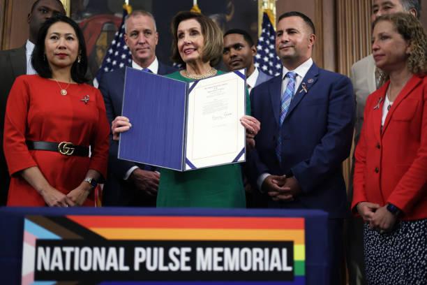 DC: Speaker Pelosi Holds Bill Enrolment Ceremony For National Pulse Memorial