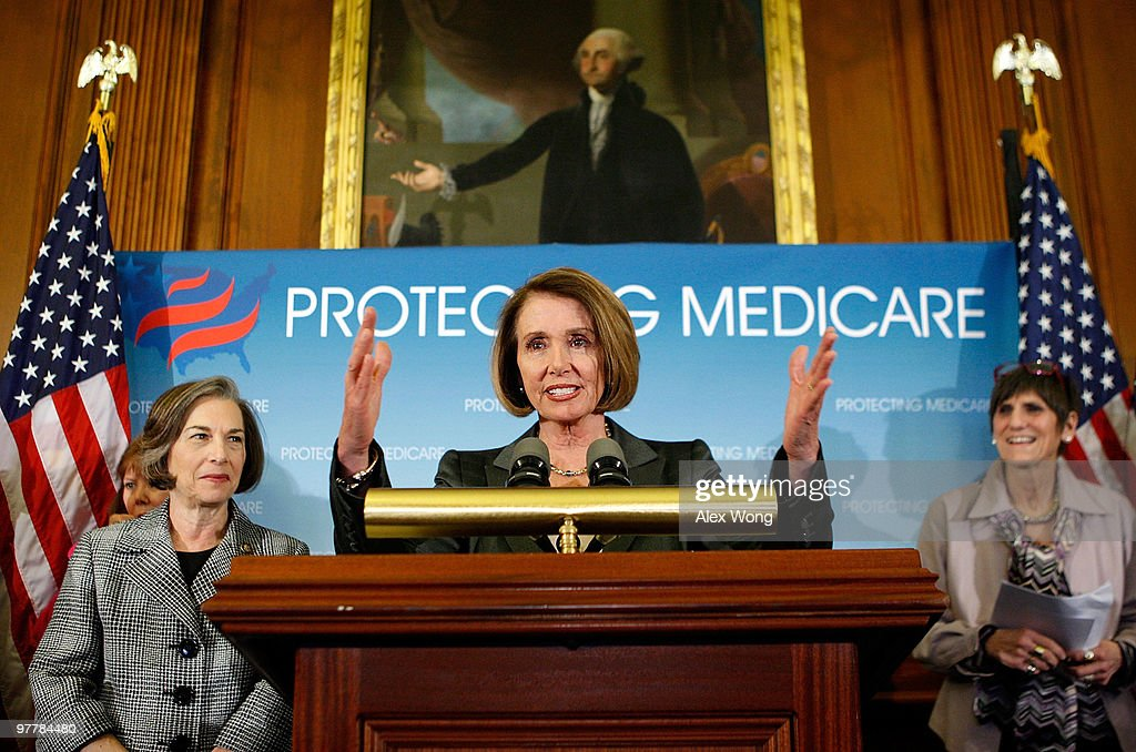 Pelosi, House Democrats Hold Press Conference On Health Insurance Reform