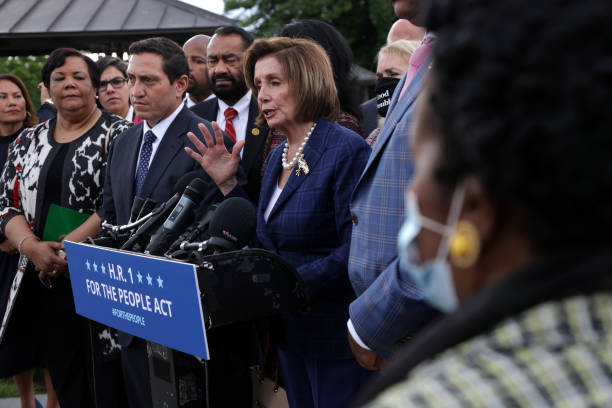 DC: Texas House Democrats Hold Press Conference On State's Voting Laws