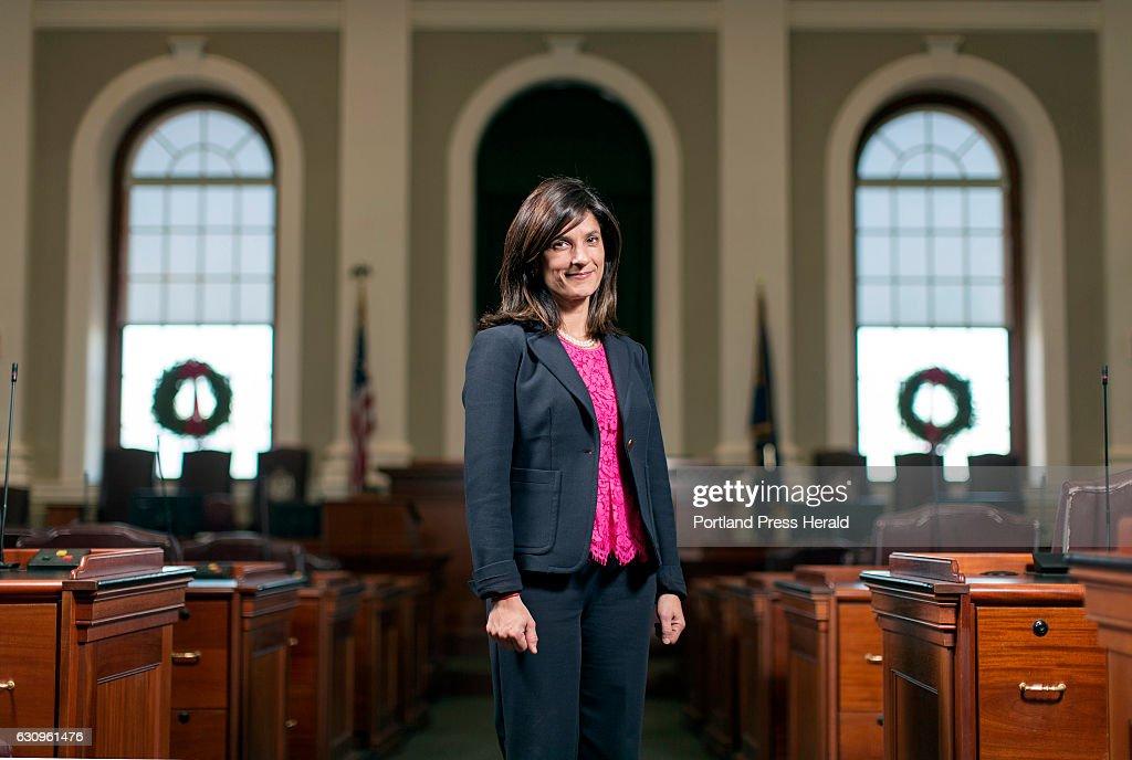 Sarah Gideon, Speaker of the House : News Photo