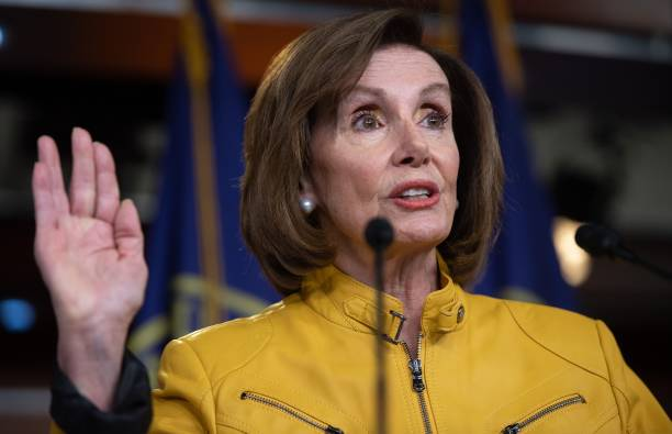DC: Speaker Nancy Pelosi Holds Weekly Press Conference