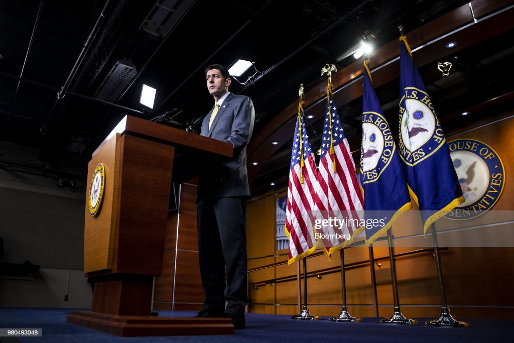 House Speaker Paul Ryan Holds News Conference On Capitol Hill