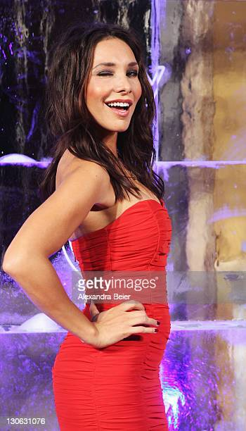 Speaker Sandra Ahrabian attends 'Games of Thrones' Preview Event of TNT Serie and Sky at Hotel Bayerischer Hof on October 27, 2011 in Munich,...