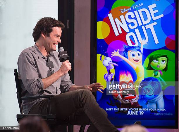Bill Hader Discusses His New Film 'Inside Out' at AOL Studios In New York on June 15 2015 in New York City