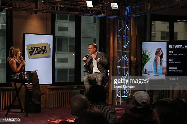 Speaker Series presents Alison Victoria at AOL Studios In New York on April 7 2015 in New York City