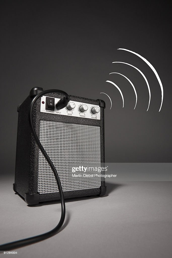 Speaker to me : Stock Photo