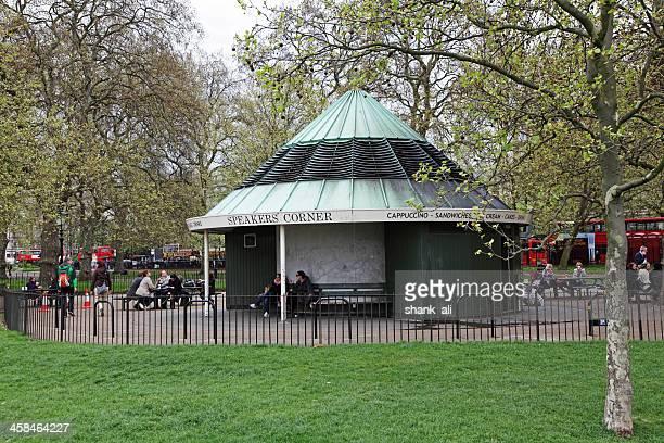 スピーカー、ハイドパークコーナー - ロンドン ハイドパーク ストックフォトと画像