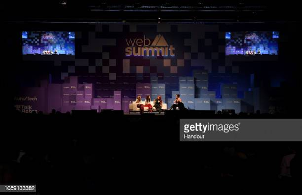 Speakers from left Polly Rodriguez CEO Unbound Babes Alexandra Fine CoFounder Dame Products Stephanie Alys CoFounder MysteryVibe and Leah Hunter...