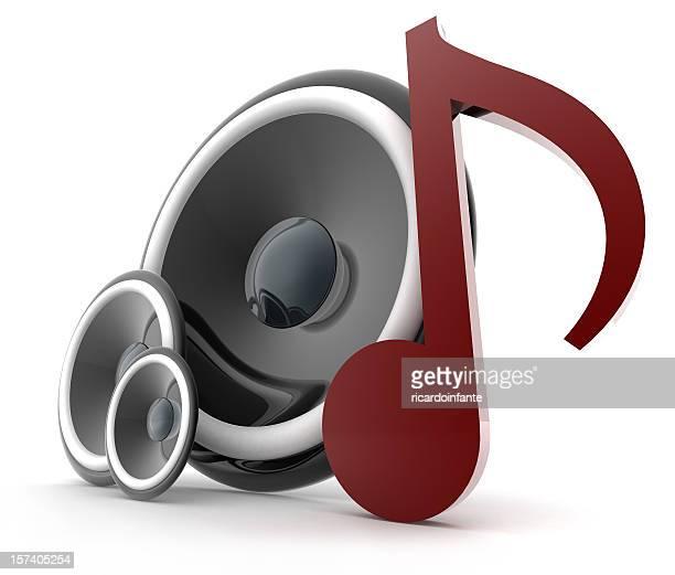 Speakers Musical Note