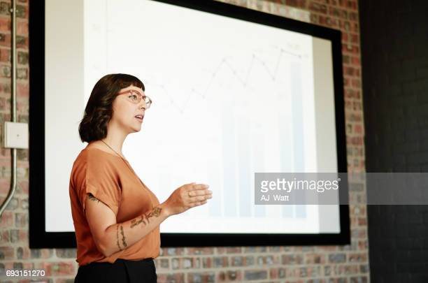 speaking about something she believes in - public speaker stock photos and pictures