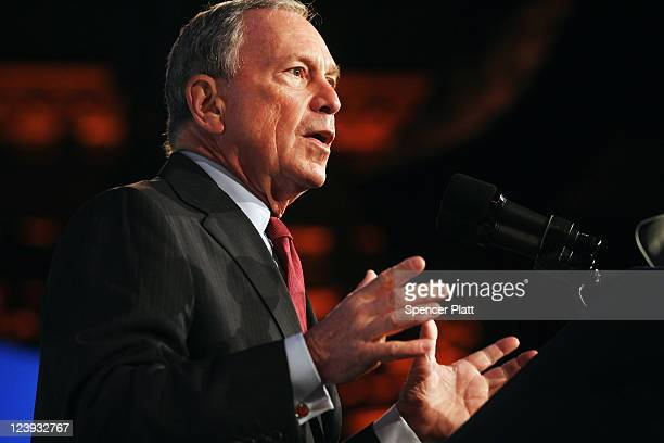 Speaking five days before the 10th anniversary of the September 11 2001 attacks New York Mayor Michael Bloomberg discusses the growth of lower...