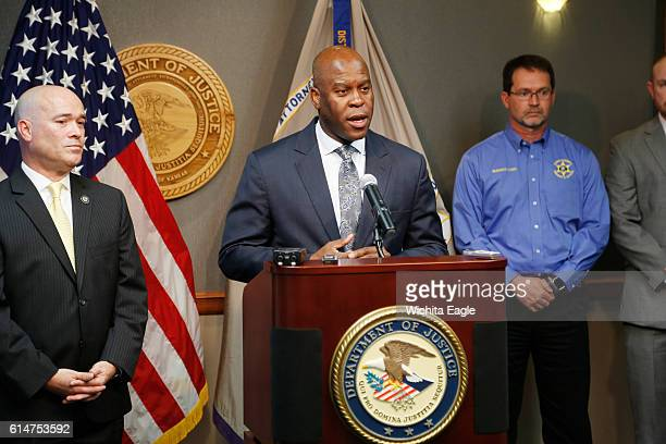 FBI Special Agent in Charge Eric Jackson talks about the agency's role in stopping a bomb plot as he joined Acting US Attorney Tom Beall left on...