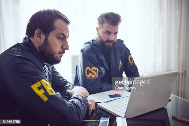 Special agents in office