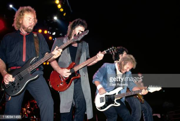 Special at the Brendan Byrne Arena in East Rutherford, New Jersey on September 12, 1986. Larry Junstrom, Don Barnes, Donnie Van Zant, and Jeff...
