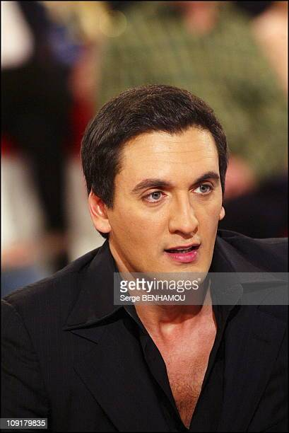 Special Carlos On Vivement Dimanche Tv Show On January 6 2004 In Paris France Danny Brillant