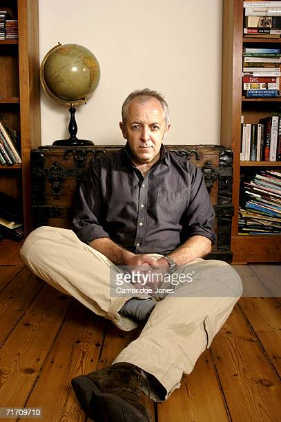 Special Correspondent for BBC Television News Jeremy Bowen poses at his home in LondonEngland on the 29th of March 2004