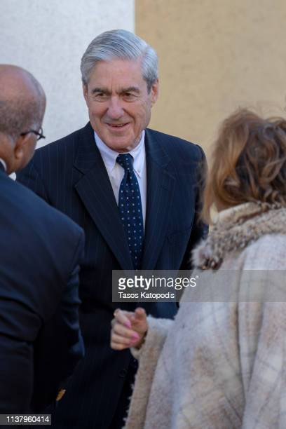 Special CounselRobert Mueller walks with his wife on March 24 2019 in Washington DC Special counsel Robert Mueller has delivered his report on...