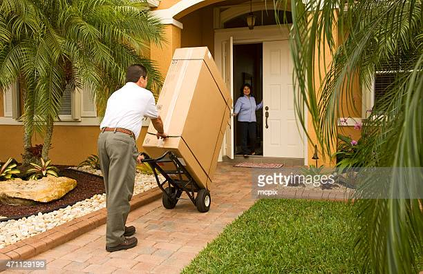 special delivery - home delivery stock pictures, royalty-free photos & images