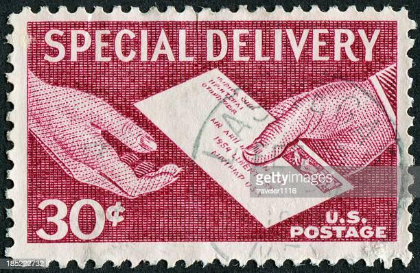 Timbro di consegna speciale