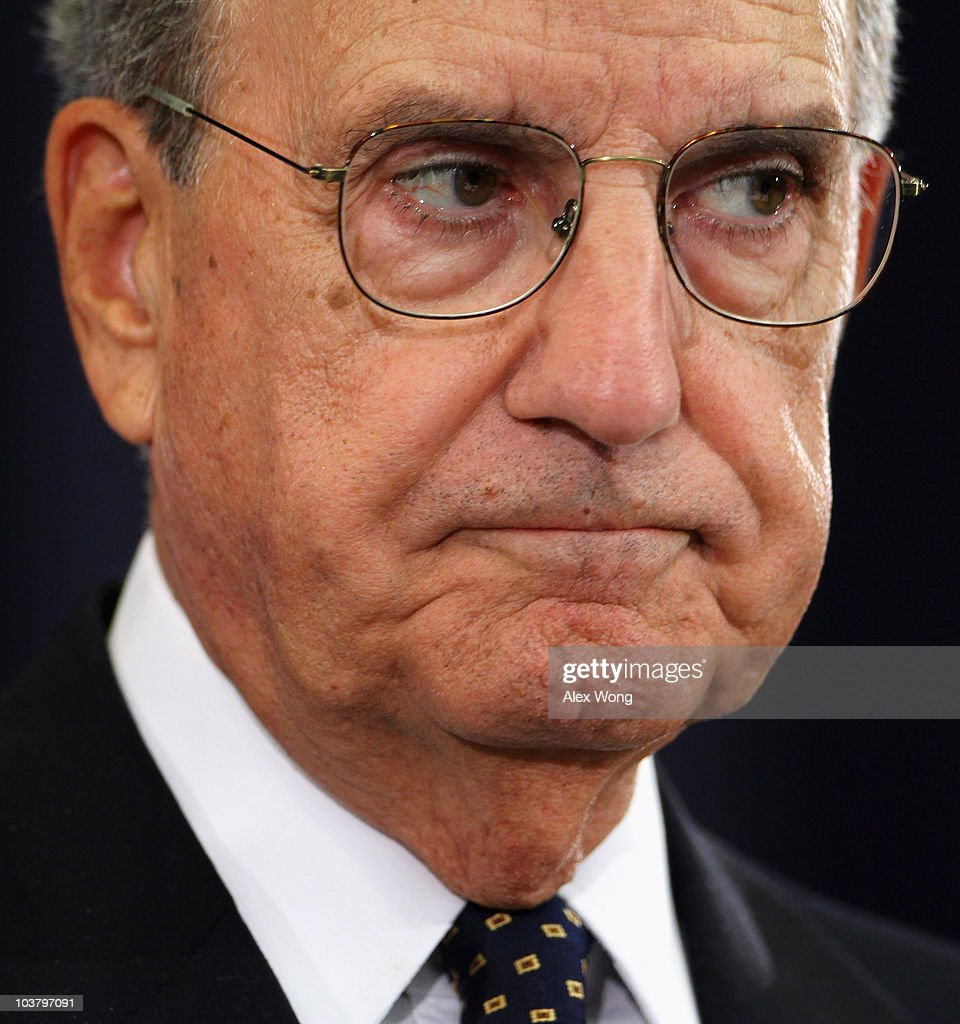 U.S. Special Envoy for the Middle East George Mitchell pauses as he speaks at a briefing during the Middle East peace talks at the State Department September 2, 2010 in Washington, DC. Mitchell said both the Palestinians and Israelis have agreed to meet again in the region on September 14 and 15.