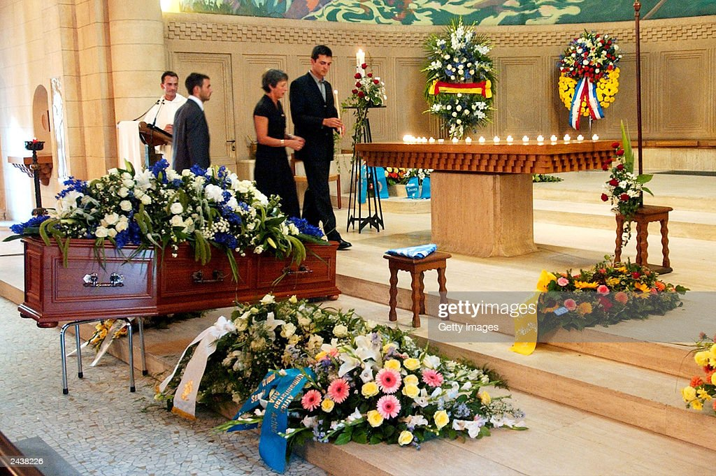 Funeral For UN Special Envoy Sergio Vieira de Mello : News Photo
