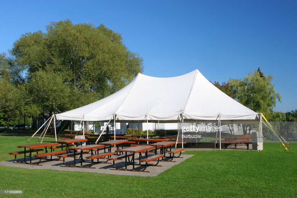 Special Event Large White Tent  Stock Photo & Special Event Large White Tent Stock Photo | Getty Images