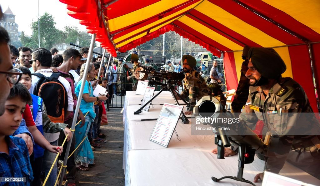 Indian Army Organised Special Exhibition Of Arms Under Know Your Army