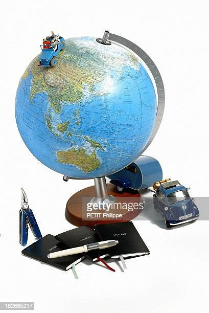 Special Father'S Day Presents Terre globe terrestre en relief lumineux Nature et Découverte maquette de la Jeep de Tintin couteau multipinces bleu...