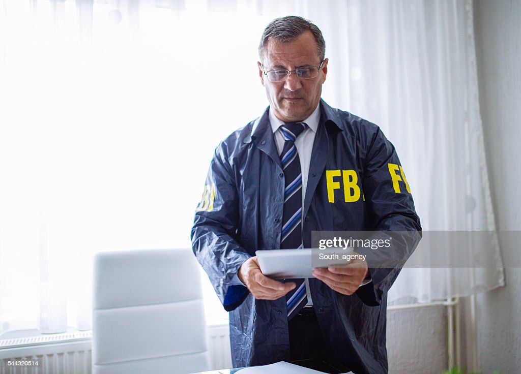 Special FBI agent : Stock Photo
