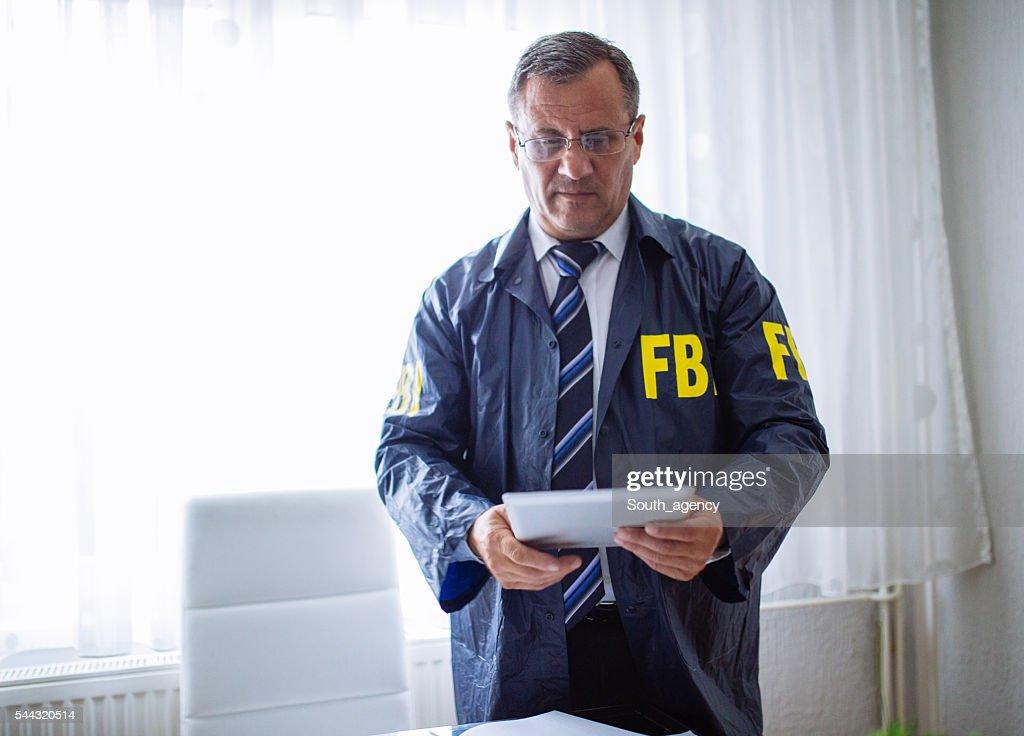 Special FBI agent : Stockfoto