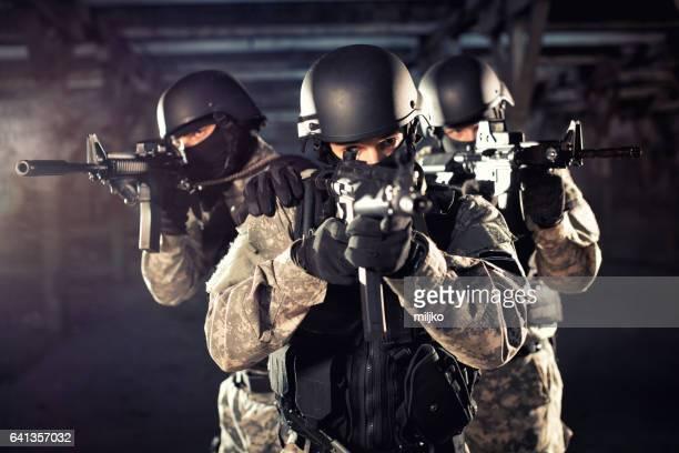 Spezialeinheit in Aktion