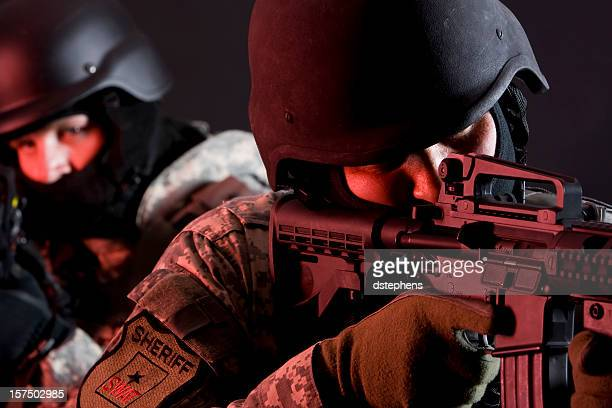 special forces in red zone - task force stock pictures, royalty-free photos & images