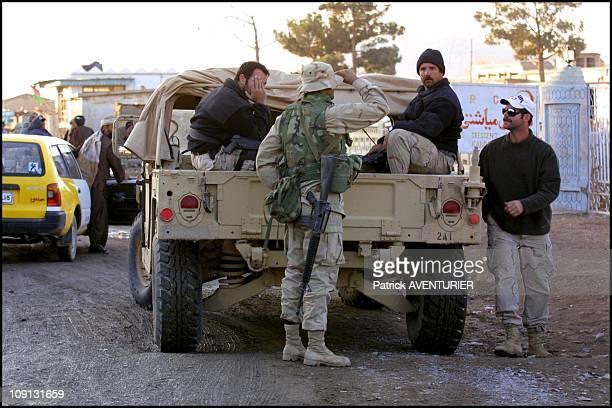 Special Forces Shopping In Kandahar On December 17Th 2001 In Kandahar Afghanistan