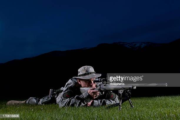 special forces 狙撃兵 - 狙撃兵 ストックフォトと画像
