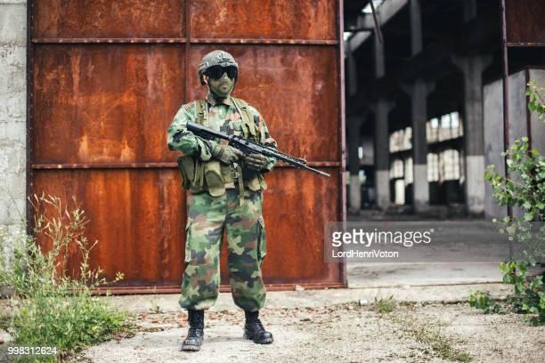 Special forces Soldat