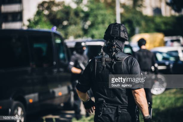 special forces team on duty - task force stock pictures, royalty-free photos & images