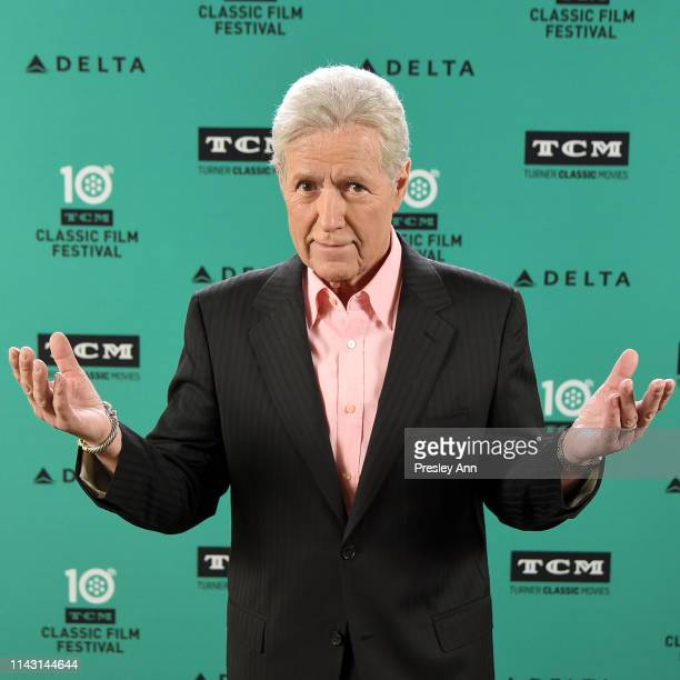 Special Guest Alex Trebek attends the screening of 'Wuthering Heights' at the 2019 TCM 10th Annual Classic Film Festival on April 13 2019 in...