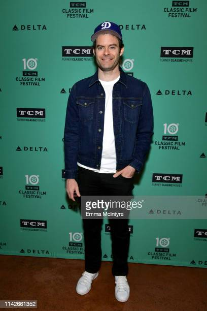 Special Guest Bill Hader attends the screening of 'Mad Love' at the 2019 TCM 10th Annual Classic Film Festival on April 14 2019 in Hollywood...