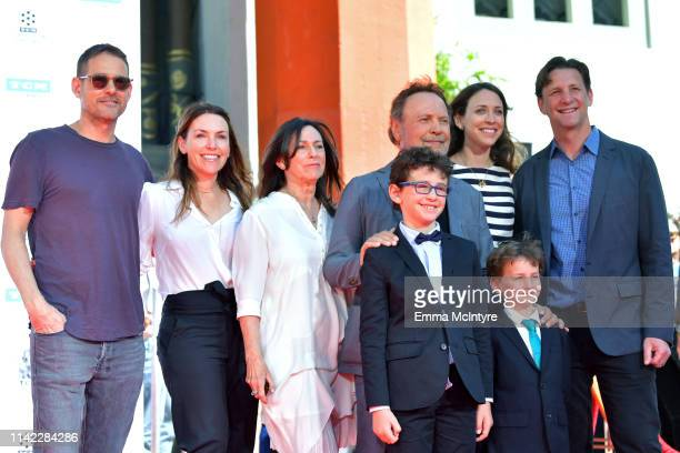 Special Guest Billy Crystal and his family attend the Hand and Footprint Ceremony Billy Crystal at the 2019 10th Annual TCM Classic Film Festival on...