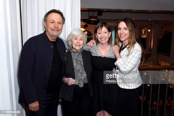 Special Guest Billy Crystal and Jennifer Crystal Foley attend the Opening Night Gala at the 2019 10th Annual TCM Classic Film Festival on April 11...