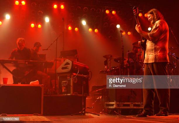 Special guest Chuck Leavell with John Jo Jo Hermann and John Bell of Widespread Panic